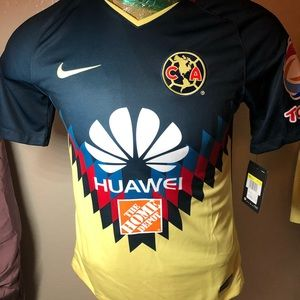 005612f65b6 Liga MX club America futbol soccer jersey small
